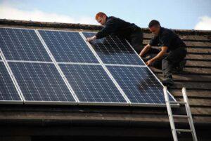 napelem rendszer kiépítése
